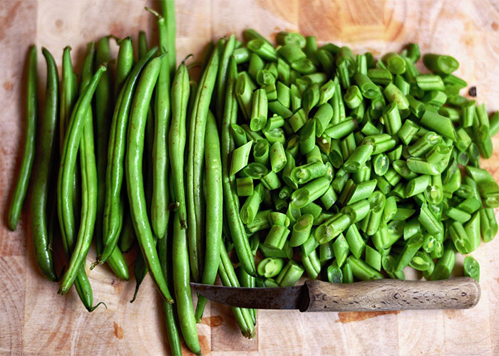 fresh green beans for cats